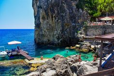 La Grotta, Paleokastritsa, Corfu