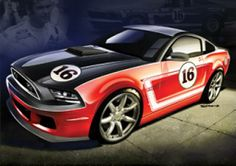 Saleen / Follmer Mustang Heritage Series