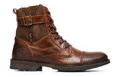 Mustang shoes Asdol (Marron) - Bottines et boots chez Sarenza (230124) (109.99 euros)