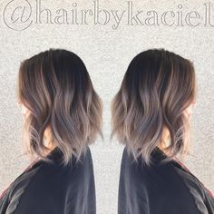 Lob and ash #ombre #rootieombre