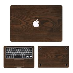 ==> [Free Shipping] Buy Best Cool Oak Wood Grain Laptop Decal 3 in1 Set for Apple MacBook Sticker Air/Pro/Retina 11 12 13 15 Full Body Protective Cover Skin Online with LOWEST Price | 32715816788