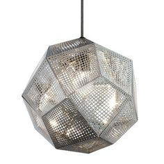 Etch Shade Stainless Steel by Tom Dixon
