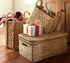 Beachcomber Lidded Basket