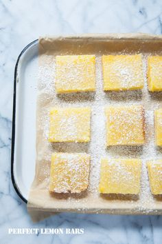 Nothing is quite as sweet as Perfect Lemon Bars on our Delish Dish blog: http://www.bhg.com/blogs/delish-dish/2014/08/07/perfect-lemon-bars/?socsrc=bhgpin081414lemonbars
