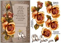 In every thought and prayer on Craftsuprint designed by Julie Green - A lovely card front for the sad times in life when we don't know what to say. Send as is or build up the layers for a 3d effect. The choice is yours - Now available for download!
