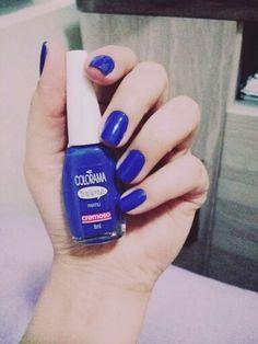 #blue #partiu #nailsart
