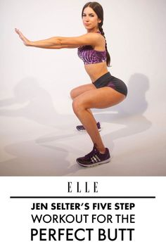 Follow Jen Selter's Five-Step Workout for the Perfect Butt