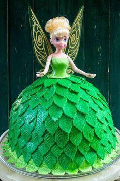 Gâteau d'anniversaire : La Fée Clochette : Des gâteaux d'anniversaire girly ! - Journal des Femmes