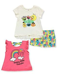 Swag Outfits, Cute Outfits, Little Girl Swag, Best Online Sales, Elmo Cookies, Elmo And Cookie Monster, Sesame Street Characters, Street Girl, Sesame Street Birthday