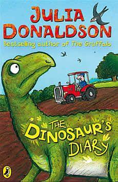 Julia Donaldson - The Dinosaur's Diary + Dinosaur Activity Sheet