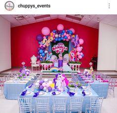 My Little Pony birthday party My Little Pony Baby, Little Pony Cake, My Little Pony Birthday Party, 1st Birthday Girls, Birthday Party Decorations Diy, Birthday Party Themes, My Little Pony Invitations, Rainbow Theme, Jada