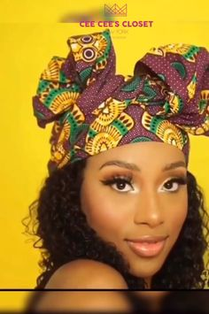 We're taking protective styling to the next level with our gorgeous headwraps. Have you ever wanted to give your curls a break or switch up y… [Video] African Hair Wrap, African Head Wraps, Hair Wrap Scarf, Hair Scarf Styles, Scarf Hairstyles, African Hairstyles, Natural Hair Tutorials, Natural Hair Styles, Protective Styles