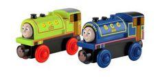 Bill & Ben - Wooden Train. Wooden toys. Imaginative Play. Preschooler. Preschool. Toddler. Fun. Learning. Educational. Thomas & Friends