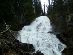 Skalkaho falls which is near Philipsburg, Montana