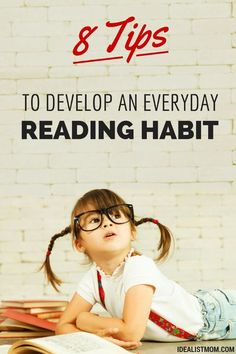A daily reading habit reduces stress, improves memory, and makes you...sexier? Here are 8 easy ways to develop a healthy reading habit - from a bona fide bookworm!