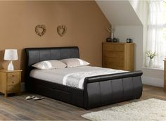 It can be hard not to be torn off when you have to decorate ashley furniture bedroom sets. Remember that the bedroom . Bed Frame With Drawers, Bed Frame With Storage, Storage Beds, Bed Drawers, Bedroom Drawers, Drawer Storage, King Size Bedroom Sets, Queen Bedroom, Upholstered Bed Frame