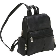 Le Donne Leather Zip Around Backpack/Purse - eBags.com