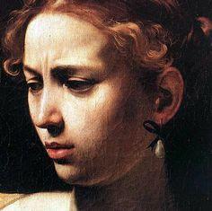 caravaggio judith beheading (detail)
