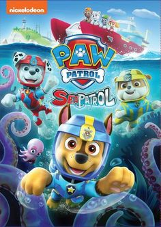 Check out this fun Paw Patrol Sea Patrol DVD from Nickelodeon that's available today! If your child loves dogs, then Paw Patrol is definitely for them. Paw Patrol Dvd, Sea Patrol, Paw Patrol Party, Paw Patrol Birthday, Peppa Pig, Home Entertainment, Cumple Paw Patrol, Baby Octopus, Ranger