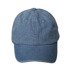 Denim Caps-Lt Blue W32S47C ($15) ❤ liked on Polyvore featuring accessories, hats, fillers, headwear, denim hat, blue cap, denim cap, blue hat and cap hats