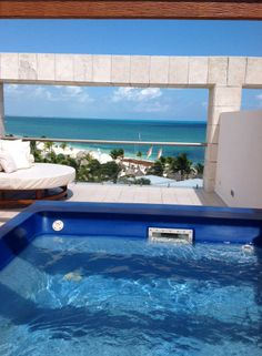 Excellence Club Rooftop Terrace Room at Excellence Playa Mujeres! #Cancun #LuxuryVacation