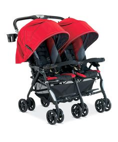 Loving this Red Twin Cosmo Stroller on #zulily! #zulilyfinds