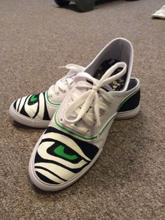 Seattle Seahawks Custom Women's Shoes by cclodo on Etsy, $75.00