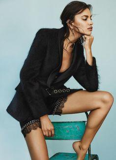 Irina Shayk By Alique For Glamour Magazine July 2016 (2)