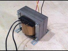 Transformador 12V feito com transformador de estabilizador Parte 2 Montagem - YouTube