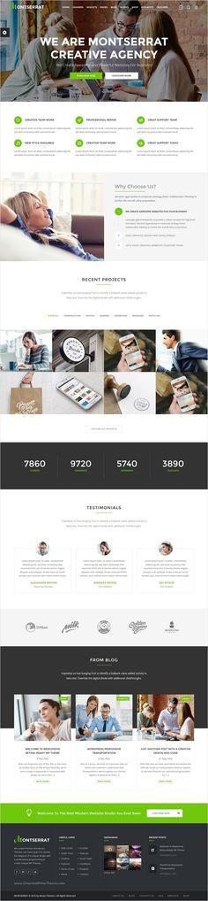 Montserrat is clean and modern 12 in 1 #WordPress theme  for multipurpose #business #website with drag and drop page builder download now➩ https://themeforest.net/item/montserrat-multipurpose-modern-wordpress-theme/18216156?ref=Datasata