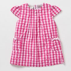 Plaid Eyelet Dress - Boutique Collection