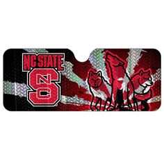 nc state wolfpack collectible bottles | North Carolina State Wolfpack Auto Sun Shade