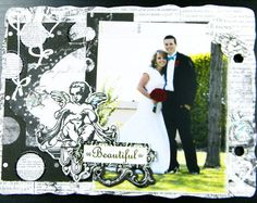 Week 2 of our Enchanted mini album online class.  It's not too late to start! #bobunny