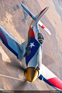 Hawker Sea Fury - best prop plane ever.  The redneck Texas paint job is questionable, though.
