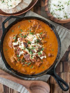 Chicken tikka masala + homemade pan-fried paneer