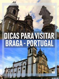 #Braga #VisitBraga #Portugal #VisitPortugal #Blogdeviagens #Travelbloggerspt #Blogger #Viagens #Travelpic O que visitar em Braga, Minho, Portugal. Como chegar, o que ver, transportes, restaurantes, tascos, museus, igrejas, jardins, hoteis, turismo rural, alojamento local, trilhos pedestres, mapas, alugar carro. Fotografias dos melhores locais a visitar em Braga. Roteiro para 2 dias. Braga Portugal, Portuguese Culture, Eurotrip, Places To Visit, Europe, Explore, World, City, Vertical