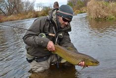 Bob Streb with a fine fall brown trout. Photo courtesy Bob Streb As the weather and water start to cool down in fall, a trout's metabolism starts to heat up. While Colorado is perhaps best known for its world-class tailwaters, I am surrounded by. . .Read More  »