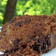 """Chocolate Zucchini Cake II Allrecipes.com  Use suggestions from """"Happy Cookah"""" in the reviews."""