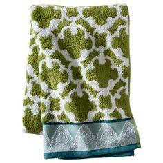 Thereshold global bath towels