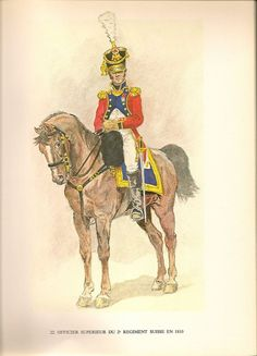 Swiss; 2nd Line Infantry, Senior Officer, 1810 by Jacques Calpini