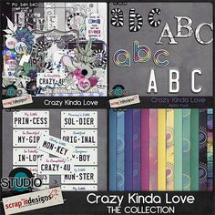Crazy Kinda Love - The Collection by Scrap'it Designs
