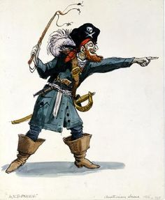 Marc Davis - Pirates of the Caribbean - Auctioneer