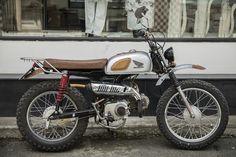 Custom Bobber, Custom Bikes, Motorcycle Design, Bike Design, Yamaha 125, Cafe Bike, Scrambler Motorcycle, Moto Style, Mini Bike