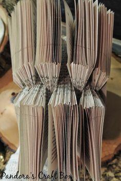 Another book folding origami tutorial - Pandora's Craft Box
