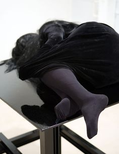 Untitled sculpture (detail) by Jan Van Oost, 1994-2005