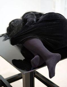 Untitled sculpture (detail) by Jan Van Oost, 1994-2005