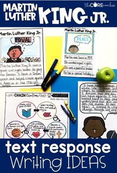The Martin Luther King Jr. Text Pack has a variety of fun and engaging printable resources that your young researchers will actually be able to read! Each text type has differentiated levels to support every reader in your class.