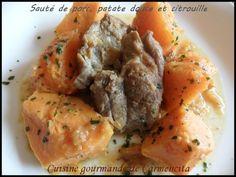 Article sauté de porc à la patate douce et à la citrouille  http://www.carmen-cuisine.com/article-saute-de-porc-a-la-patate-douce-et-a-la-citrouille-98275955.html