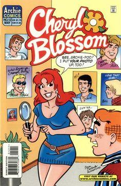 Cheryl Blossom 12, Archie Comic Publications, Inc. https://www.pinterest.com/citygirlpideas/archie-comics/