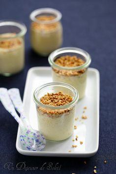 Creme mousse au citron yaourt et noisettes